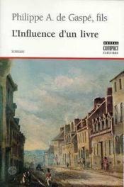 Influence D'Un Livre - Couverture - Format classique
