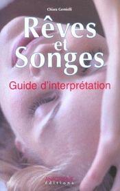 Reves et songes ; guide d'interpretation - Intérieur - Format classique