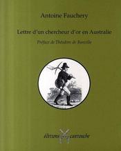 Lettre d'un chercheur d'or en australie - Intérieur - Format classique