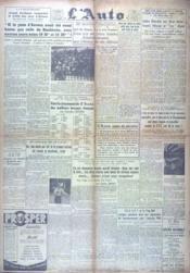 Auto (L') N°15808 du 17/08/1944 - Couverture - Format classique