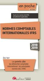 Vente  Normes comptables internationales IFRS  - Eric Tort