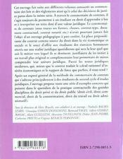 Le Commentaire De Contrats Methodologie Exercices Corriges - 4ème de couverture - Format classique