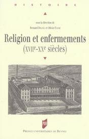 Religion Et Enfermement - Intérieur - Format classique