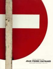 Catalogue Raisonne Raynaud 1 1962-73 - Couverture - Format classique