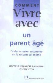 Comment vivre avec un parent age - Intérieur - Format classique