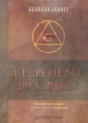 L'Experience Du Symbole - Couverture - Format classique