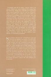 La Nature N'Est Plus Ce Qu'Elle Etait - 4ème de couverture - Format classique