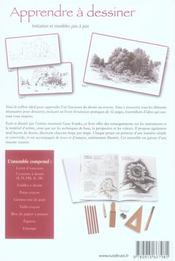 Coffret Apprendre A Dessiner - 4ème de couverture - Format classique