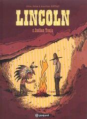 Lincoln t.2 ; Indian tonic - Intérieur - Format classique