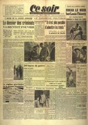 Ce Soir N°948 du 03/10/1944 - Couverture - Format classique