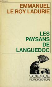 Les Paysans De Languedoc. Collection : Science. - Couverture - Format classique