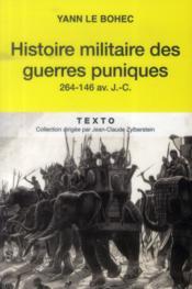 Histoire militaire des guerres puniques 264-146 av. J.-C. - Couverture - Format classique