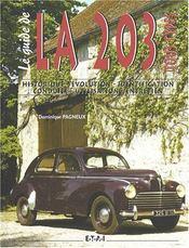 Le Guide De La Peugeot 203 - Intérieur - Format classique