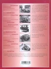Le Guide De La Peugeot 203 - 4ème de couverture - Format classique