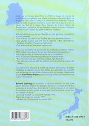 La Coupe Du Monde 2002 - 4ème de couverture - Format classique