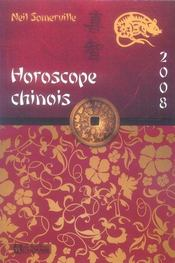 Vente  Horoscope chinois (édition 2008)  - Neil Somerville