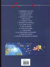 Toutes Les Amours Du Monde - 4ème de couverture - Format classique