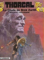 Thorgal T.6 ; La Chute De Brek Zarith - Intérieur - Format classique