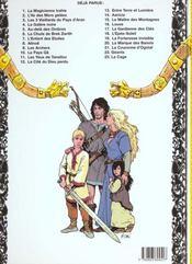Thorgal T.6 ; La Chute De Brek Zarith - 4ème de couverture - Format classique