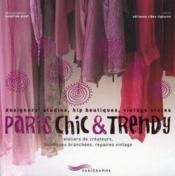 Paris chic et trendy - Couverture - Format classique