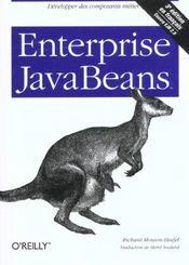 Enterprise Javabeans 3e Edition - Intérieur - Format classique