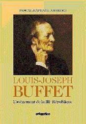 Louis-joseph buffet - Couverture - Format classique