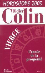 Horoscope 2005 : Vierge - Intérieur - Format classique
