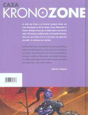 Kronozone - 4ème de couverture - Format classique