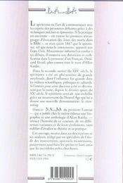 Spiritisme - 4ème de couverture - Format classique