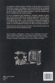 Le Cuir Et La Pelleterie A L'Epoque Romaine - 4ème de couverture - Format classique