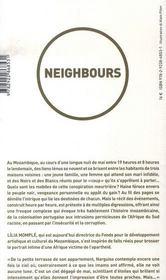 Neighbours - 4ème de couverture - Format classique