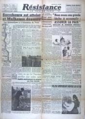 Resistance N°97 du 22/11/1944 - Couverture - Format classique