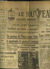 Le Nouveau Nord Maritime N°931 - 5eme Annee - Samedi 5 Novembre 1949. - Couverture - Format classique