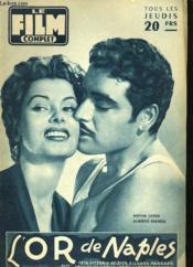 Film Complet N° 565 - L'Or De Naples - Couverture - Format classique
