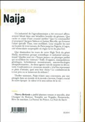 Naija - 4ème de couverture - Format classique