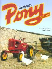 Tracteurs pony, 1947-1961 - Intérieur - Format classique