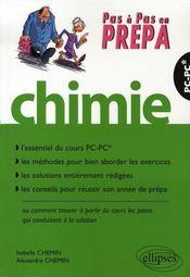 Chimie pc-pc* ; essentiel du cours, méthodes pour bien aborder les exercices, solutions rédigées - Intérieur - Format classique