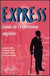 Express Guide De L'Expression Anglaise - Couverture - Format classique