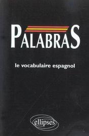 Palabras Le Vocabulaire Espagnol - Intérieur - Format classique
