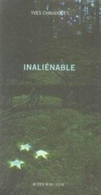 Inalienable - Couverture - Format classique