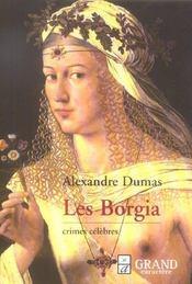 Crimes célèbres : les Borgia - Intérieur - Format classique