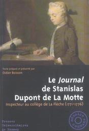 Journal De Stanislas Dupont De La Motte - Intérieur - Format classique