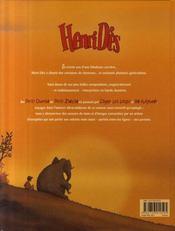 Henri Dès ; chansons en bd - 4ème de couverture - Format classique