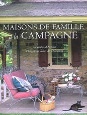 Maisons de famille à la campagne - Intérieur - Format classique