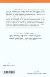 La Representation De L'Espace Dans Le Roman Hispano-Americain ; Los Pasos Perdidos De Carpentier ; La Voragine De Rivera - 4ème de couverture - Format classique
