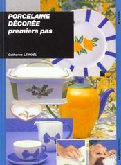 Porcelaine Decoree - Premiers Pas - Intérieur - Format classique