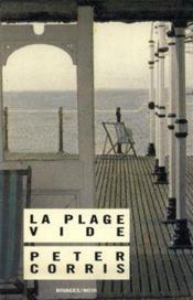 La plage vide - Couverture - Format classique
