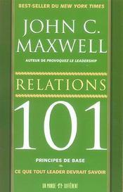 Relations 101 - Intérieur - Format classique