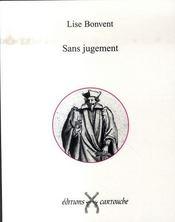 Sans Jugement - Intérieur - Format classique