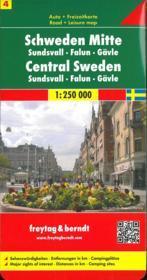 Suède centrale - Couverture - Format classique